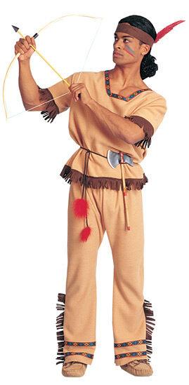 Native Indian Warrior Adult Costume