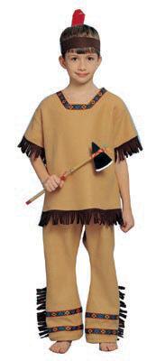 Unisex Indian Brave Kids Costume