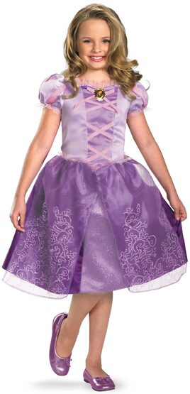 Tangled Rapunzel Disney Kids Costume