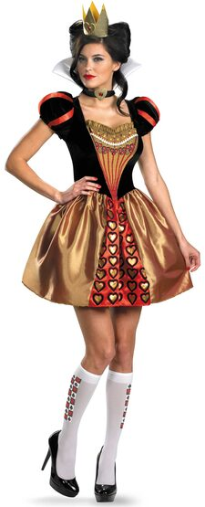 Sexy Evil Queen of Hearts Costume