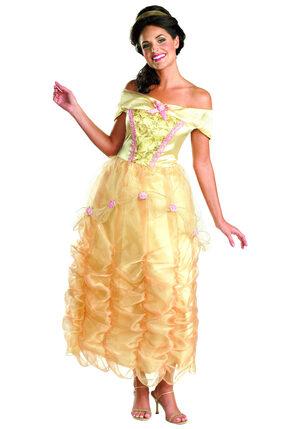 Sexy Disney Beautiful Princess Belle Costume