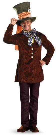Mens Mad Hatter Adult Costume