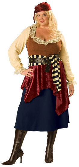 Buccaneer Beauty Pirate Plus Size Costume