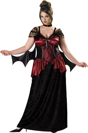 Gothic Vampira Plus Size Costume