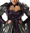 Womens Wicked Queen Plus Size Costume