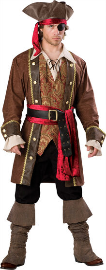 Captain Skullduggery Pirate Adult Costume