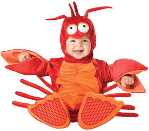 Lil' Lobster Baby Costume