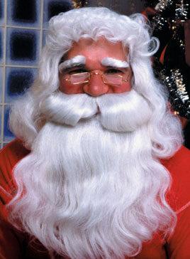 Santa Beard and Wig Feature Set