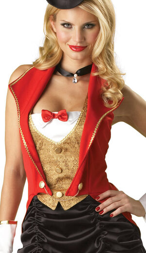 Sexy Three Ring Hottie Circus Costume