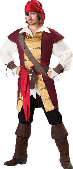 Mens Swashbuckler Pirate Adult Costume