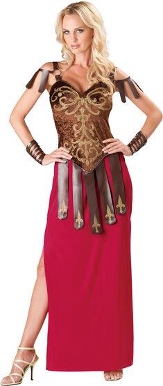 Womens Gorgeous Roman Gladiator Adult Costume