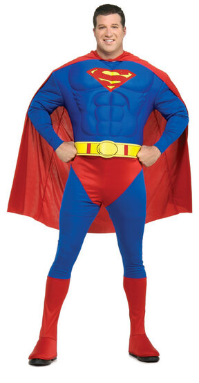 Muscle Chest Superman Plus Size Costume