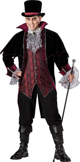 Vampire of Versailles Plus Size Costume