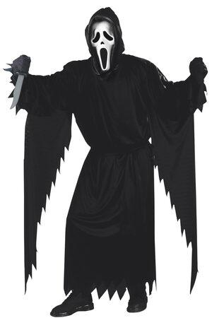 Mens Scream Ghost Adult Costume