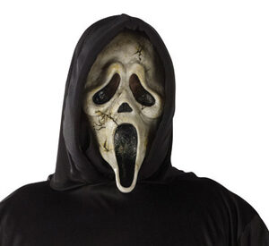 Scream Zombie Ghost Adult Costume