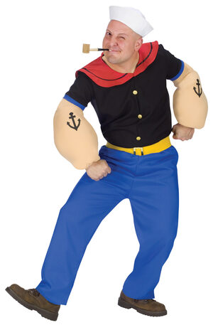 Popeye the Sailor Man Adult Costume