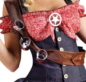 Sexy Shotgun Sheriff Cowgirl Costume