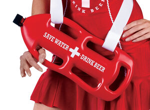 Sexy Off Duty Lifeguard Beer Girl Costume