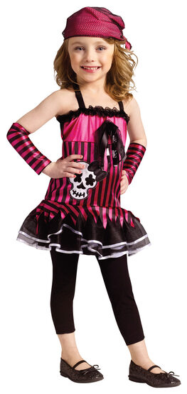 Rockin' Skull Pirate Kids Costume
