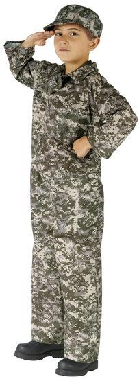 Covert Commando Army Kids Costume
