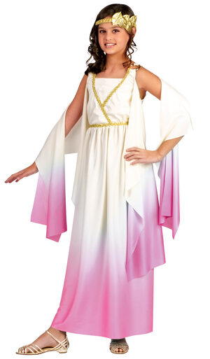 Girls Athena Greek Goddess Kids Costume