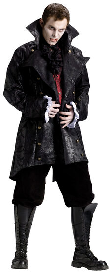 Mens Vampire Jacket Adult Costume