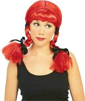 Red Country Girl Wig