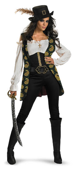 Pirates of the Caribbean Angelica Adult Costume