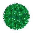 """Green 6"""" LED Halloween Light Sphere"""