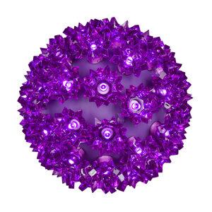 """Purple 6"""" LED Halloween Light Sphere"""