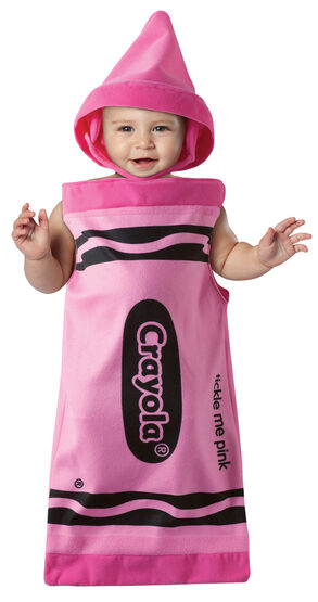 Tickle Me Pink Bunting Crayon Baby Costume