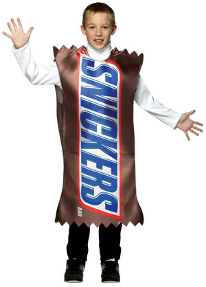 Boys Snickers Candy Kids Costume