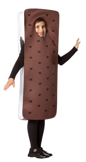 Ice Cream Sandwich Kids Costume