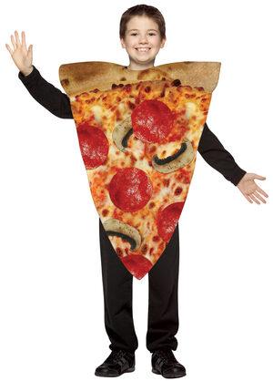 Slice of Pizza Funny Kids Costume