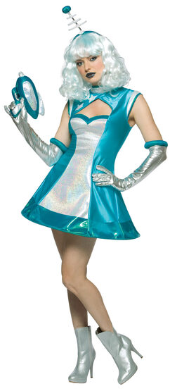 Sexy Outer Space Girl Costume