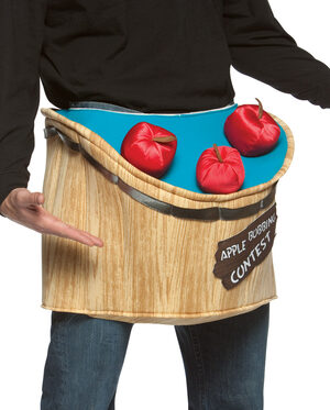 Bobbing For Apples Funny Adult Costume