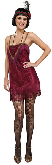 Sexy Jazz Diva Flapper Costume