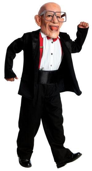 Boys Mr Six Kids Costume