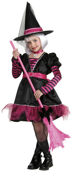 Girls Whimsical Witch Kids Costume