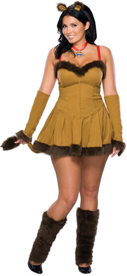 Sexy Cowardly Lion Plus Size Costume