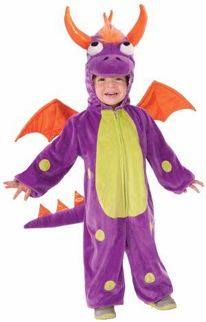 Precious Purple Monster Kids Costume