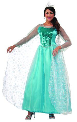 Elegant Princess Krystal Adult Costume