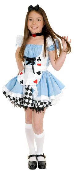 Fairy Tale Alice in Wonderland Kids Costume