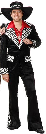 Z-Mac Daddy Pimp Adult Costume
