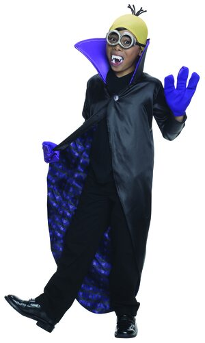 Despicable Me Minion Dracula Kids Costume