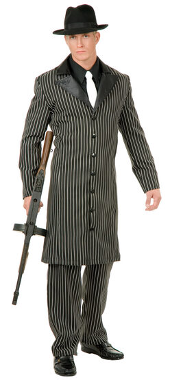 Mens Gangster Suit Adult Costume