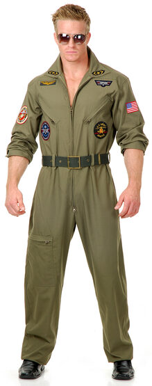 Wing Man Military Adult Costume
