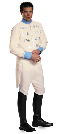 Prince Charming Deluxe Adult Costume