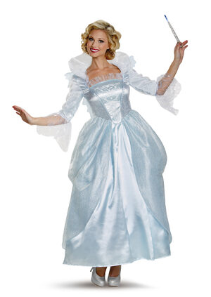 Fairy Godmother Prestige Cinderella Adult Costume
