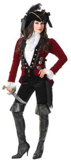 Sultry Pirate Lady Adult Costume